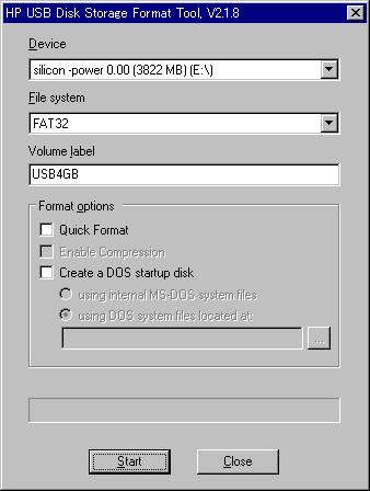 HP USB Disk Storage Format Tool ... - drive …
