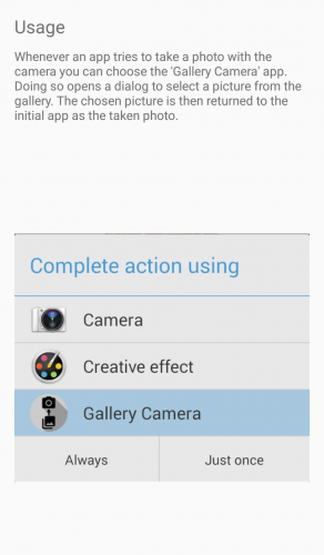 Gallery Camera